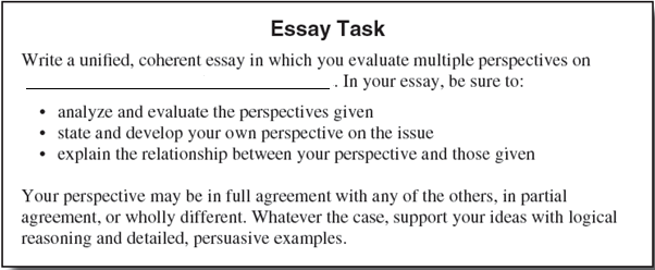 Act Essay Writing Tips  High School Test Prep Act Essay Task